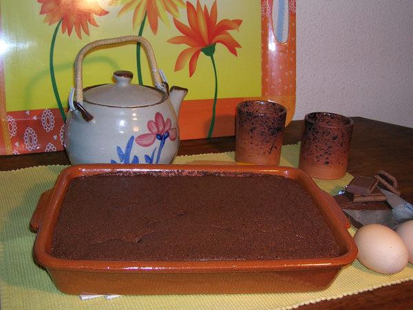 Plat à four - Recette Gâteau Chocolat